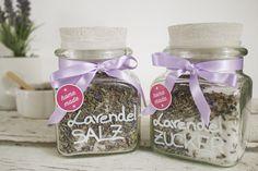 Öfter mal was Neues - DIY Lavendelsalz und Lavendelzucker