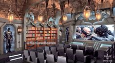 Bat Cave-----Man Cave--NOW we're talkin' and not just for the man!