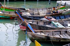 """Man on Boat - People there called that place with """"Belawan"""" who famous with it's…"""