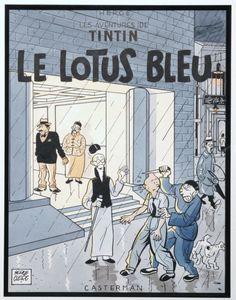 Serge Clerc - Tintin - Le Lotus Bleu