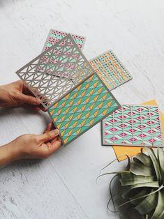 Molly M Geometrics cards