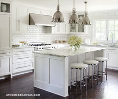 The Beauty of the Kitchen Bar Stool // Live Simply by Annie