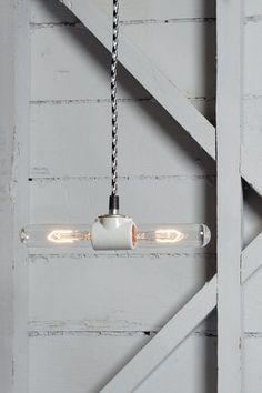 Color Cord Pendant Light Double Pendant Lamp от IndLights на Etsy