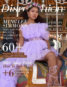 Work by Disrupshion Magazine, Joey Rosado, Angel Neal, Stephen Hudson Cold School Lunches, Together Fashion, Lena Horne, Baby Phat, Beauty Magazine, Afro Punk, Covergirl, Black Girl Magic, Fashion Forward