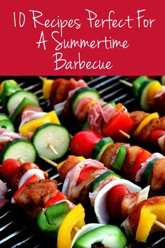 Enjoy a summertime barbecue with the family and try out these recipes. They're tasty, easy to make, and perfect for a summertime barbecue.