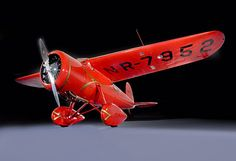 Blog 4 History | Smithsonian Snapshot – Amelia Earhart's Transatlantic Record Airplane: A Lockheed Vega 5B. 1932