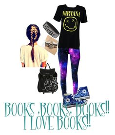"""Jupiter#3"" by thejohnlockfangirl ❤ liked on Polyvore featuring Boohoo and Converse"