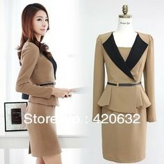 fashionable bank uniform,office lady dress,women suits | Fashion ...