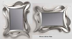 Espejo plata calado