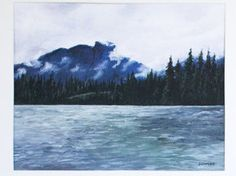 """Limited Edition Digital Fine Art Print, 11 X """"Kootenay Mountains"""" Signed and Numbered by Jen Unger. by JenUngerFineArts on Etsy Is 11, All Print, Alaska, Fine Art Prints, Mountains, Digital, Artist, Nature, Outdoor"""