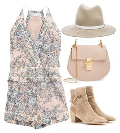 """""""Lovely"""" by laurenmarron ❤ liked on Polyvore featuring Zimmermann, Gianvito Rossi, Chloé, rag & bone and laurenthelabel"""