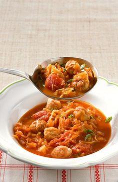 Sauerkraut-Tomaten-Eintopf Rezept - [ESSEN UND TRINKEN]