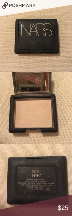 NARS Shadow NARS eye shadow. Only swatched. Never used but some of the Shadow has escaped onto the mirror. Has been in my makeup bag so packaging but is still in new condition. Bundle with my other NARS Shadow and save! NARS Makeup Eyeshadow