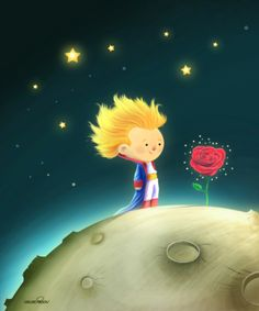 Fables on Behance The Little Prince Theme, The Petit Prince, Cute Cartoon Wallpapers, Pretty Wallpapers, Disney Phone Wallpaper, Kids Story Books, Background Pictures, Children's Book Illustration, Cute Drawings