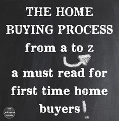 Buying a home, step-by-step, and an explanation of weird terms that might come up in the process. A great read for first-time buyers or anyone who wants to understand the process