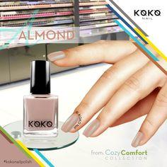 #Almond from #CozyComfortCollection #kokonailpolish  #polish #dubai #mydubai #dxbconnect #saudi_trends #dubainails #dubaiexpo2020ambassadors #Emirates #instagram #aboutdubai #instafashion #instagood #instanail #koko #kokonail #dubaiexpo2020