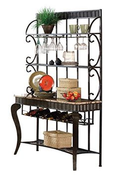 Food Amp Drink Bakers Rack Decorating And Vintage