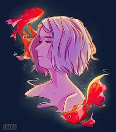 Freshwater Friends ((sorry I haven't been on here much,,, I'm much more active on Instagram its @/soyochii))