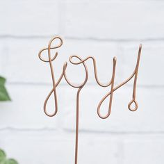 Wire Christmas Tree Topper by The Letter Loft, the perfect gift for Explore more unique gifts in our curated marketplace. Christmas Tree Toppers, Christmas Decorations, Holiday Decor, Christmas Gift Guide, Christmas Gifts, Modern Words, Stainless Steel Wire, Monochrom, Lets Celebrate