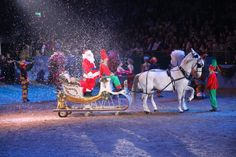 It wouldn't be Christmas without an annual visit to the London International Horse Show at Olympia.