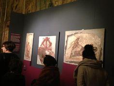 Affreschi in deposito dell'Antiquarium dei #MuseiCapitolini L'età dell'angoscia #GiorniDiRoma @museiincomune