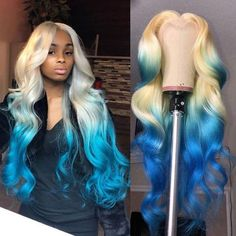 Black Girls Hairstyles, Pretty Hairstyles, Colored Wigs, Coloured Hair, Birthday Hairstyles, Weave Hairstyles, Baddie Hairstyles, Natural Hairstyles, Multicolored Hair