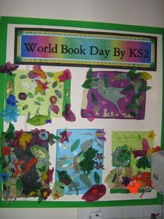 World Book Day Display, Classroom Display, class display, world book day, books, art, books, reading, read, Early Years (EYFS), KS1 & KS2 Primary Resources