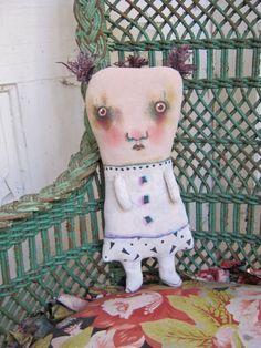 art doll Melody ooak doll sandy mastroni grunge by sandymastroni, $52.00 #dolls