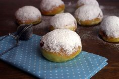 Berliner aus dem Backofen / Homemade Low Fat Jelly Donuts