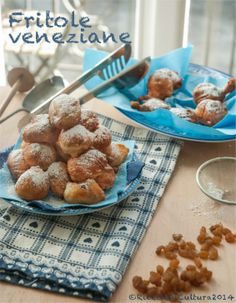 "Ricette di Cultura: ""Fritole"" fried sweet from Venice for Carnival"