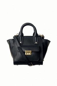 Mini black handbag. #philliplimfortarget