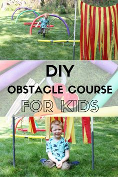 DIY Obstacle Course for Kids | The Girl in the Red Shoes Primrose Schools #PrimroseSkills (ad)