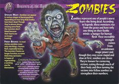 Card 80 - Zombies