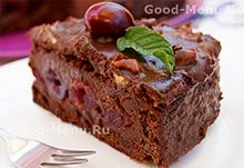 Торт Пьяная вишня Menu, Desserts, Food, Dessert, Pies, Menu Board Design, Tailgate Desserts, Deserts, Essen