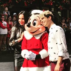 Descendants Cast, Sofia Carson, Cameron Boyce, Mickey Mouse, Disney Characters, Fictional Characters, Winter Jackets, Descendants, Celebrity