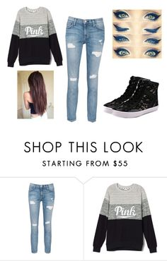 """Untitled #379"" by rachel-lynn786 ❤ liked on Polyvore featuring Current/Elliott and Rebecca Minkoff"