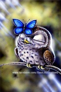 DIY Diamond Painting by Number Kits with Animals Owl and Butterfly Patterns, it is Simple and easy to use. - Full Drill Special shaped resin rhinestone design, it is Vibrant and brilliant. Baby Owls, Cute Baby Animals, Owl Wallpaper, Owl Artwork, Owl Pictures, Animal Paintings, Animal Drawings, Beautiful Owl, 5d Diamond Painting