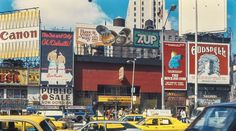 Times Square (1977) -photographer unknown New Amsterdam, New York Daily News, Chrysler Building, Vintage New York, Time Travel, Old And New, New York City, Times Square, The Past