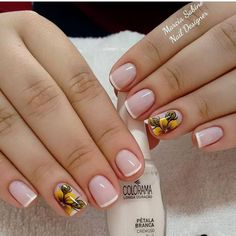 100 Trendy Stunning Manicure Ideas For Short Acrylic Nails Design Acrylic Nail Designs, Nail Art Designs, Acrylic Nails, Cute Nails, Pretty Nails, My Nails, Nail Designer, Nagel Gel, Manicure And Pedicure