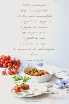 Fermare il ricordo: Pomodorini ripieni di Tiziana | Smile, Beauty and More
