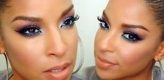 Get The Look: Purple Smokey eye