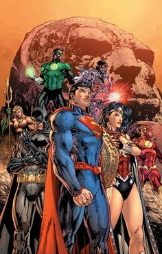 [Cover] Justice League: Origin Deluxe Hardcover by Jim Lee Out March 25 it collects Justice League Justice League Comics, Justice League Dark, Arte Dc Comics, Dc Comics Superheroes, Dc Comics Characters, Marvel Comics, Ms Marvel, Captain Marvel, Mundo Superman