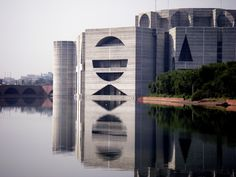 National Assembly of Bangladesh, Dhaka, Bangladesh / 1961-82 / Louis I. Kahn