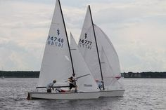 Sailing, WAYPOINT Home Steve, Jeffrey and Bill at Florida Lightning District Championship at Lake Monroe in Sanford, Fla.