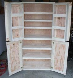 Do it yourself pantry shelves garage shelf building garage idea for pantry shelves solutioingenieria Gallery
