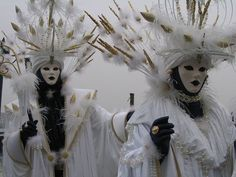 The most famous part of Venice's carnival is the masked balls that take place every year. Description from tiwp.blogspot.com.au. I searched for this on bing.com/images