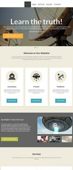 20 best science web templates images on pinterest science web
