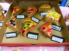 clay pizza containers by fourth grade
