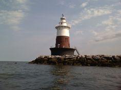 Greens Ledge Lighthouse Norwalk CT