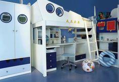 Jungen-kinderzimmer-einrichten-Hochbett